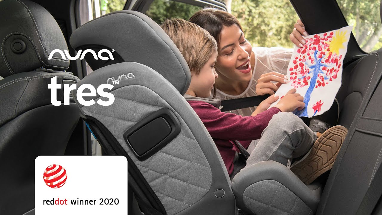 Nuna® Infant Car Seat Tres™ 0+/1/2/3 (0-36 kg) - Caviar :: Pikolin